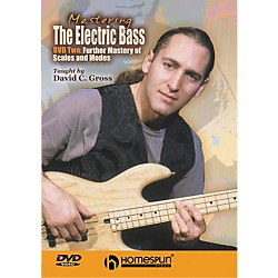 Homespun Mastering the Electric Bass: Scales 2 (DVD) (641857)