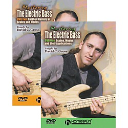 Homespun Mastering the Electric Bass 2-DVD Set (641867)