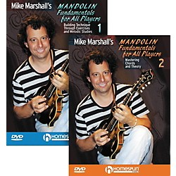 Homespun Mike Marshall's Mandolin Fundamentals For All Players (DVD) 1&2 (642054)