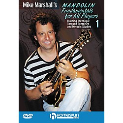 Homespun Mike Marshall's Mandolin Fundamentals For All Players DVD 1 (642052)
