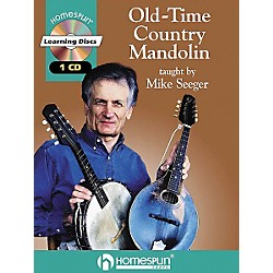 Homespun Old-Time Country Mandolin (Book/CD) (641593)