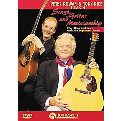 Homespun Peter Rowan & Tony Rice Teach Songs, Guitar, & Musicianship DVD with Tab (642055)