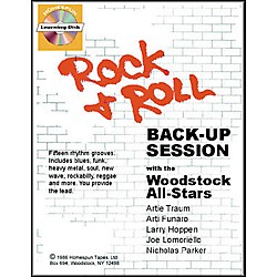 Homespun Rock and Roll Back-Up Session (Book/CD) (641513)