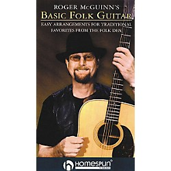 Homespun Roger McGuinn's Basic Folk Guitar (VHS) (641573)