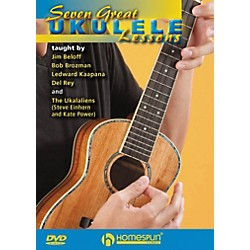 Homespun Seven Great Ukulele Lessons DVD (102857)