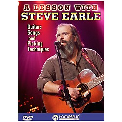 Homespun Steve Earle - Guitars, Songs, Picking Techniques And Arrangements DVD (642183)