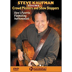 Homespun Steve Kaufman Teaches Crowd Pleasers And Show Stoppers DVD (642092)