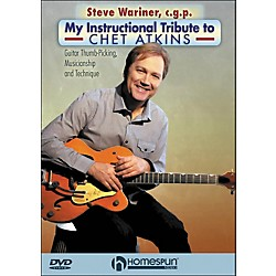 "Homespun Steve Wariner, C.G.P. - ""My Instructional Tribute To Chet Atkins"" DVD (642109)"