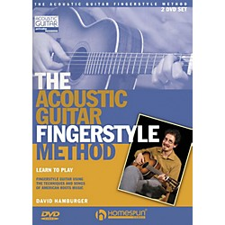 Homespun The Acoustic Guitar Fingerstyle Method 2 DVD Set (642177)
