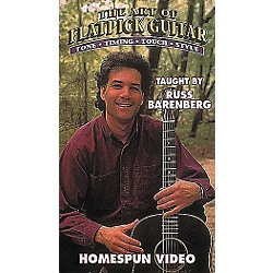 Homespun The Art of Flatpick Guitar (VHS) (641044)