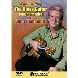 Homespun The Blues Guitar & Harmonica of John Hammond (DVD) (641992)