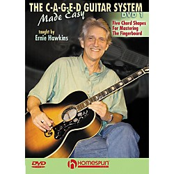 Homespun The C-A-G-E-D Guitar System Made Easy DVD 1 (642004)