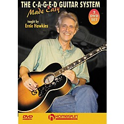 Homespun The C-A-G-E-D Guitar System Made Easy DVD's 1 & 2 (642006)