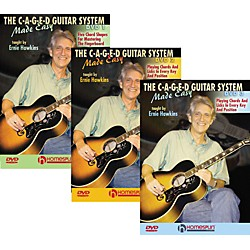 Homespun The C-A-G-E-D Guitar System Made Easy DVDs 1,2, & 3 (642028)