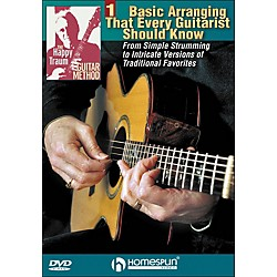 Homespun The Happy Traum Guitar Method: Basic Arranging Techniques DVD 1 (642124)