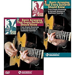 Homespun The Happy Traum Guitar Method: Basic Arranging Techniques DVD Set (1 & 2) (642126)