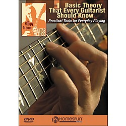 Homespun The Happy Traum Guitar Method; Basic Theory That Every Guitarist Should Know DVD 1 (642110)