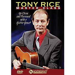 Homespun Tony Rice Master Class: Up Close and Personal with a Guitar Great (DVD) (641951)