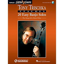 Homespun Tony Trischka Easy Banjo Solos CD/Pkg Listen & Learn (699056)