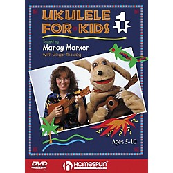 Homespun Ukulele for Kids - Lesson 1 (DVD) (641667)