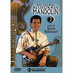 Homespun You Can Play Bluegrass Mandolin 2 (DVD) (641636)
