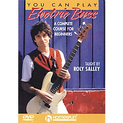 Homespun You Can Play Electric Bass (DVD) (641785)
