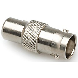 Hosa BNC to RCA 75-ohm Coupler (NBR-321)