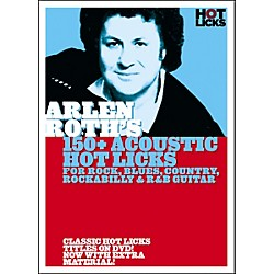 Hot Licks Arlen Roth: 150+ Acoustic Hot Licks DVD (14036773)