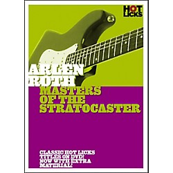 Hot Licks Arlen Roth: Masters of the Stratocaster DVD (14020907)