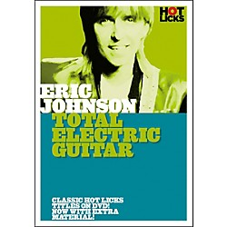 Hot Licks Eric Johnson - Total Electric Guitar (DVD) (14017139)