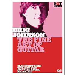 Hot Licks Eric Johnson: The Fine Art Of Guitar (DVD) (14017138)