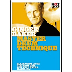 Hot Licks Ginger Baker: Master Drum Techniques DVD (14012734)