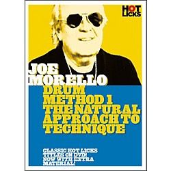 Hot Licks Joe Morello Drum Method 1: The Natural Approach to Technique (DVD) (14021858)