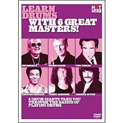Hot Licks Learn Drums with 6 Great Masters DVD (14018763)