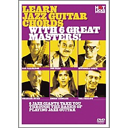 Hot Licks Learn Jazz Guitar Chords with 6 Great Masters (14018764)