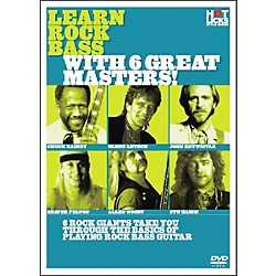 Hot Licks Learn Rock Bass with 6 Great Masters DVD (14018769)