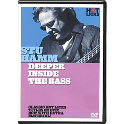 Hot Licks Stu Hamm Deeper Inside the Bass DVD (14028137)