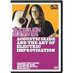 Hot Licks Warren Haynes Electric Slide and the Art Of Improvisation DVD (14014661)