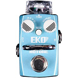 Hotone Effects Eko Delay Skyline Series Guitar Effects Pedal (TPSDL1)