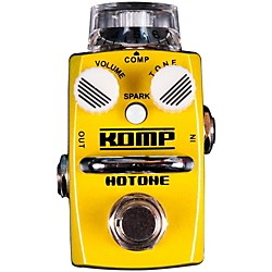 Hotone Effects Komp Opto Compressor Skyline Series Guitar Effects Pedal (TPSCS1)