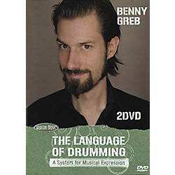 Hudson Music Benny Greb: The Language of Drumming 2-DVD Set (320837)