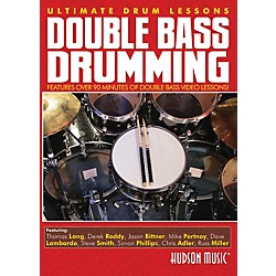 Hudson Music Double Bass Drumming Ultimate Drum Lessons Hudson DVD (321122)