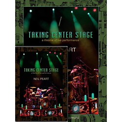 Hudson Music Neil Peart Taking Center Stage Combo Pack Book/DVD (129268)