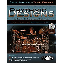 Hudson Music Rhythmic Designs By Gavin Harrison And Terry Branam Book/DVD (6620146)