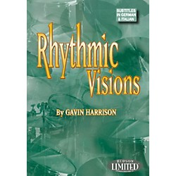 Hudson Music Rhythmic Visions DVD by Gavin Harrison (320699)