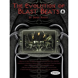 Hudson Music The Evolution Of Blast Beats By Derek Roddy (Book/CD) (6620120)