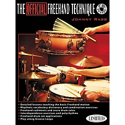 Hudson Music The Official Freehand Technique Johnny Rabb Book/CD (6620121)