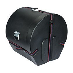 Humes & Berg Enduro Bass Drum Case with Foam (DR445BDBKSP)