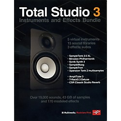 IK MULTIMEDIA Total Studio 3 Software Instruments and Effects Bundle (IK-BOXTB3-HCD-IN)