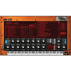 IK Multimedia IK SampleMoog Software Download (1049-13)